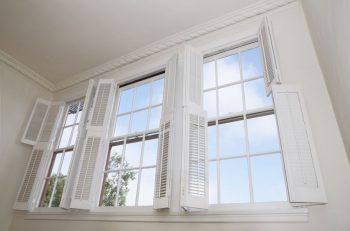 windows wood shutters
