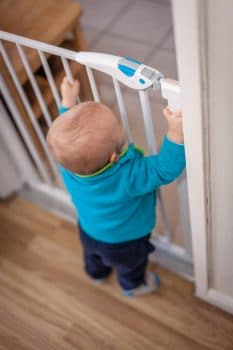 nursery child-proof gate