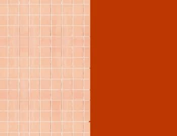 Peach Tile Goes With What Colors