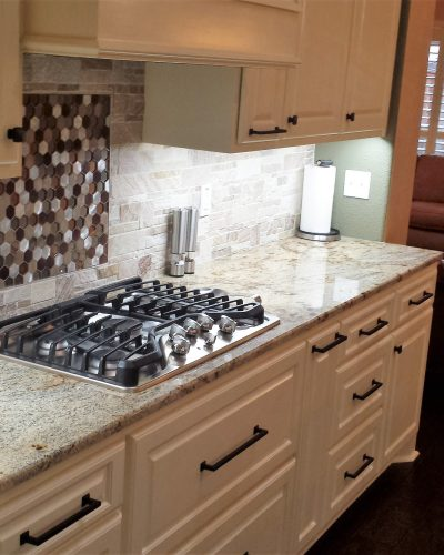 kitchen countertops backsplashes